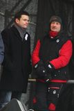 Politician Ilya Yashin and economist Sergei Royalty Free Stock Photo