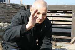 Politician Konstantin Kosyakin during the campaign of defenders of the Khimki forest Stock Photo
