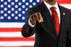 Politician: Politician Gives Friendly Fist Bump Stock Image