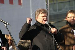 Politician Sergei Mitrokhin Stock Photo