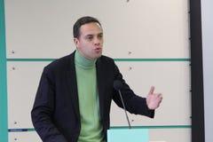 Politician Vladimir Milov Stock Images