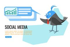 Politicians and Businessman on Social Media royalty free illustration