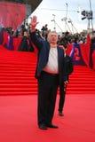 Politicien Vladimir Zhirinovsky au festival de film de Moscou Photographie stock libre de droits