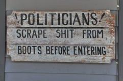 politiciens Photo libre de droits