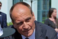 Politico polacco Pawel Kukiz immagine stock libera da diritti