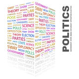 POLITICS. Royalty Free Stock Images