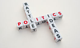 Politics: battle for ideas Royalty Free Stock Photography