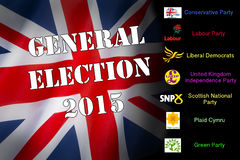 Politics - General Election 2015 - United Kingdom Stock Images