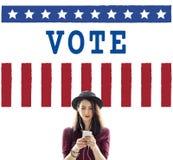 Politics Government Referendum Democracy Vote Concept. People Politics Government Referendum Democracy Vote stock photos