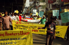 Politics of Kolkata-India Stock Image