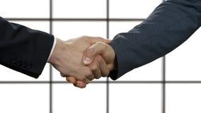 Politics shake hands.