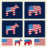 Politics (vector) Stock Images