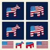 Politics (vector) Stock Images