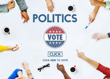 Politics Vote Election Government Party Concept Royalty Free Stock Photography