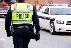 Politie royalty-vrije stock afbeelding