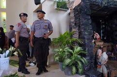 Politie bom ploeg Royalty-vrije Stock Foto's