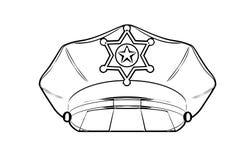 Politie GLB stock illustratie