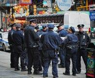 Politie NYC Stock Afbeelding