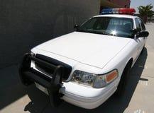 Politie op campus Stock Foto