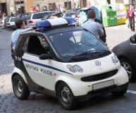 Politie op plicht Stock Foto's