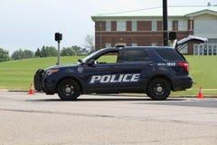 Politie SUV Stock Foto