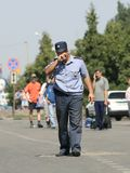 Politieagent Stock Foto