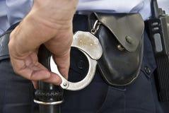 Politieagent. Royalty-vrije Stock Afbeelding
