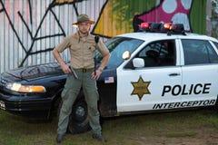 Politieagent Royalty-vrije Stock Foto