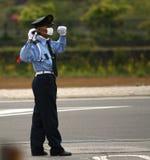 Politieagent Royalty-vrije Stock Foto's