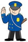Politieagent Royalty-vrije Stock Fotografie