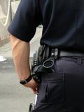 Politieagent in Eenvormig Stock Fotografie