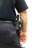 Politieagent in Eenvormig Stock Foto's