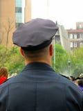 Politieagent in Eenvormig Royalty-vrije Stock Afbeelding