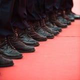 Politieagenten Stock Fotografie