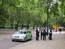 politieagenten Royalty-vrije Stock Afbeeldingen