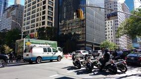 Politieautopedden, NYC, NY, de V.S. Royalty-vrije Stock Afbeelding