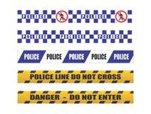 Politieband Royalty-vrije Stock Foto's