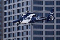 Politiehelikopter Stock Fotografie