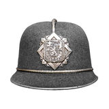 Politiehoed Royalty-vrije Stock Fotografie