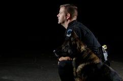 Politiehond Stock Foto's