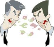 Politiek debat Royalty-vrije Stock Afbeeldingen