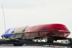 Politielichten Stock Foto