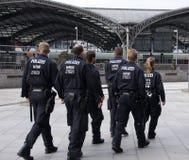 Politiemacht Stock Foto