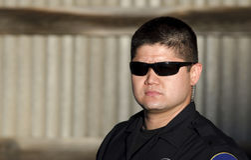 Politieman Royalty-vrije Stock Foto