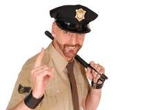 Politieman Royalty-vrije Stock Afbeelding
