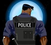 Politiemens Stock Foto