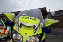 Politiemotorfiets Royalty-vrije Stock Afbeelding