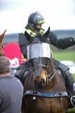 Politiepaard Stock Foto