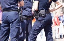 Politiepatrouille Stock Afbeeldingen