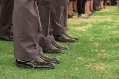 Politierij Royalty-vrije Stock Fotografie